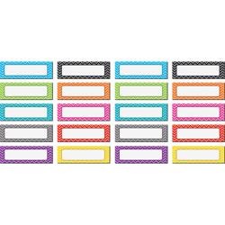 Teacher Created Resources Accents, 4-1/2 inWx1-1/2 inLx1/10 inH, 20 EA/PK, MI