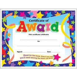 Trend Enterprises Colorful Classics Awards
