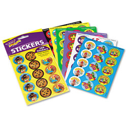 Trend Enterprises Stinky Stickers Variety Pack, Colorful Favorites, 300/Pack