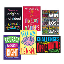 Trend Enterprises ARGUS Poster Combo Pack,  inLife Lessons in, 13 3/8w x 19h
