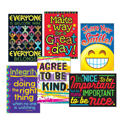 Trend Enterprises ARGUS Poster Combo Pack,  inKindness Matters in, 13 3/8w x 19h