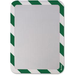 Tarifold High Visibility Safety Frame Display Pocket-Magnet Back, 10 1/4 X 14 1/2, GN/WH