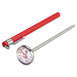 Rubbermaid Industrial-Grade Analog Pocket Thermometer, 0°F to 220°F