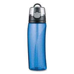 Thermos Intak by Thermos Hydration Bottle with Meter, Polyester, 24 oz, Blue