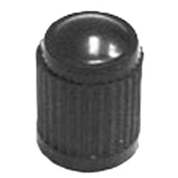 The Main Resource Black Plastic Tire Valve Stem Cap, Box of 100