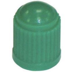 The Main Resource Green Plastic Sealing Cap, 100 Per Box