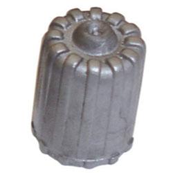 The Main Resource Standard TPMS Plastic Gray Cap, 100 Per Box