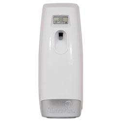 Timemist Plus Metered Aerosol Fragrance Dispenser, 3.4 in x 3.4 in x 8.25 in, White