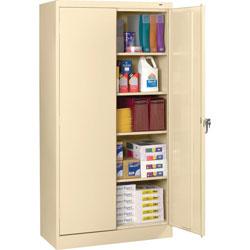 Tennsco Storage Cabinet, Standard, 36 in x 24 in x 72 in, Putty