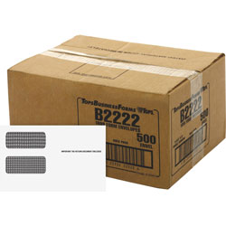 "TOPS Double Window Envelopes F/1099 Form, 9""x5 5/8"", 500/CT"