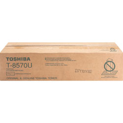 Toshiba Toner Cartridge, f/ E-Studio 557/657, 73,900 Page Yield, Black