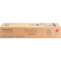 Toshiba Toner Cartridge, f/ E-Studio 2555, 28,000 Page Yield, Magenta