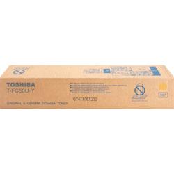 Toshiba Toner Cartridge, f/ E-Studio 2555, 28,000 Page Yield, Yellow