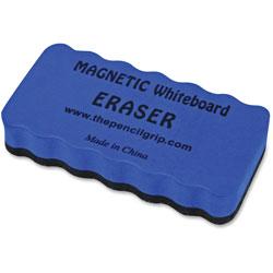 The Pencil Grip WB Eraser, Magnetic, 3 inWx8 inLx4 inH, BEBK