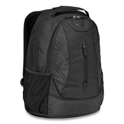 Targus Ascend Backpack, 16 in, 12.5 x 7 x 18.6, Polyester, Black