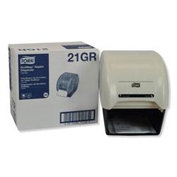 Tork RollNap Roll Napkin Dispenser, 8.25w x 11d x 10h, Granite