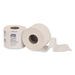 Tork Universal Bath Tissue, Septic Safe, 2-Ply, White, 616 Sheets/Roll, 48 Rolls/Carton