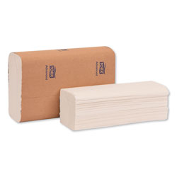 Tork Advanced Multifold Hand Towel, 9 x 9.5, White, 250/Pack, 16 Packs/Carton
