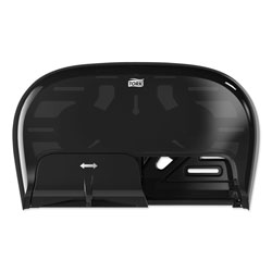 Tork High Capacity Bath Tissue Roll Dispenser for OptiCore, 16.62 x 5.25 x 9.93,Black