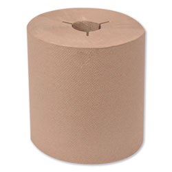 Tork Universal Hand Towel Roll, Notched, 8 in x 630 ft, Natural, 6 Rolls/Carton