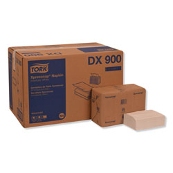 Tork Xpressnap Interfold Dispenser Napkins, 1-Ply, Bag-Pack, 13 x 8.5 in, White, 6000/Carton