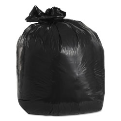 Trinity Low-Density Can Liners, 20 gal, 1.5 mil, 30 in x 36 in, Black, 100/Carton