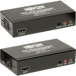 Tripp Lite Extender Kit, HDMI Over Cat5/6, 6-1/5 inWx11-3/10 inL2 inH, Black