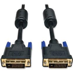 Tripp Lite DVI Dual Link Cable, Digital TMDS Monitor Cable, DVI-D (M/M), 6 ft., Black
