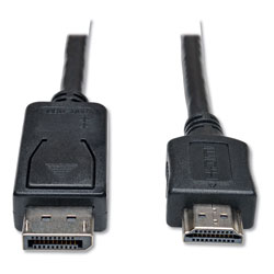 Tripp Lite DisplayPort to HDMI Cable Adapter (M/M), 10 ft., Black