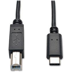 Tripp Lite USB 2.0 Hi-Speed Cable, 6Ft, Black