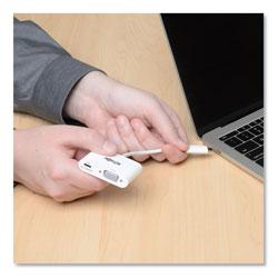 Tripp Lite USB 3.1 Gen 1 USB-C to VGA Adapter, USB-C PD Charging Port