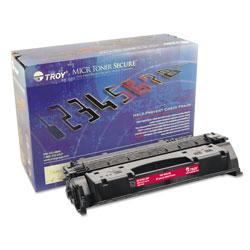 Troy 0281551001 80X High-Yield MICR Toner Secure, Alternative for HP CF280X, Black