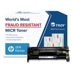 Troy 0281680001 289A MICR Toner Secure, Alternative for HP CF289A, Black