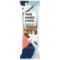 This Bar Saves Lives Snack Bars, Vanilla Almond/Honey, 1.4 oz, 12/BX