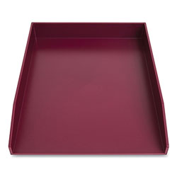 TRU RED™ Front-Load Stackable Plastic Document Tray, 1 Section, Letter Size Files, 9.8 x 12.24 x 1.75, Purple