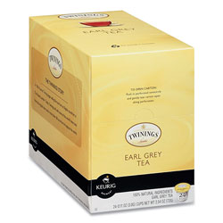 Twinings Tea K-Cups, Earl Grey, 0.11 oz K-Cups, 24/Box