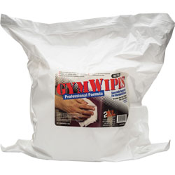 2XL GymWipes Prof Towelettes Refill, 6 in x 8 in, 700 Sheets, 4/PK, WE