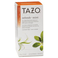 Seattle's Best® Tea Bags, Refresh Mint, 1 oz, 24/Box