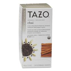 TAZO® Chai Organic Black Tea, Filter Bag, 24/Box