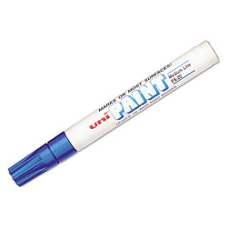 uni®-Paint Permanent Marker, Medium Bullet Tip, Blue