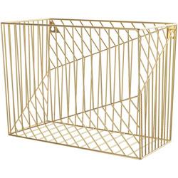 U Brands Hanging File Basket, Bent Wire, 9-1/2 inWx12-2/5 inLx6-4/5 inH, Gd