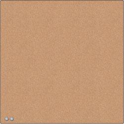 U Brands Cork Board, Tile, 14 inWx7/10 inLx14 inH, Natural