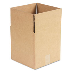 GEN Cubed Fixed-Depth Shipping Boxes, Regular Slotted Container (RSC), 10 in x 10 in x 10 in, Brown Kraft, 25/Bundle