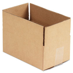 GEN Fixed-Depth Shipping Boxes, Regular Slotted Container (RSC), 10 in x 6 in x 4 in, Brown Kraft, 25/Bundle