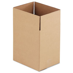 GEN Fixed-Depth Shipping Boxes, Regular Slotted Container (RSC), 11.25 in x 8.75 in x 12 in, Brown Kraft, 25/Bundle