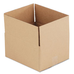 GEN Fixed-Depth Shipping Boxes, Regular Slotted Container (RSC), 12 in x 10 in x 6 in, Brown Kraft, 25/Bundle