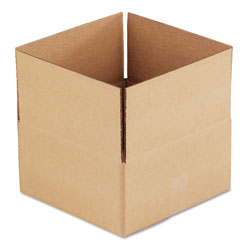 GEN Fixed-Depth Shipping Boxes, Regular Slotted Container (RSC), 12 in x 12 in x 6 in, Brown Kraft, 25/Bundle