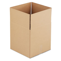 GEN Cubed Fixed-Depth Shipping Boxes, Regular Slotted Container (RSC), 14 in x 14 in x 14 in, Brown Kraft, 25/Bundle