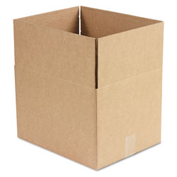 GEN Fixed-Depth Shipping Boxes, Regular Slotted Container (RSC), 15 in x 12 in x 10 in, Brown Kraft, 25/Bundle