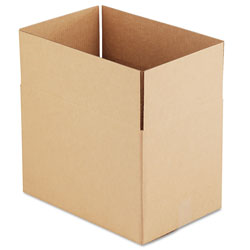 GEN Fixed-Depth Shipping Boxes, Regular Slotted Container (RSC), 18 in x 12 in x 12 in, Brown Kraft, 25/Bundle